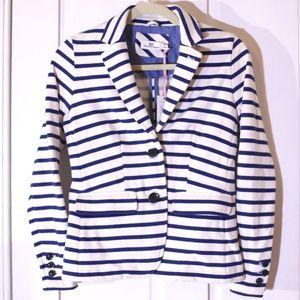 Vineyard Vines Nautical Striped Blazer Jacket